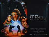 Star Wars: Episode III - Revenge of the Sith (2005) - Original British Quad Movie Poster
