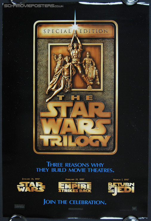 Star Wars Trilogy: Special Edition (1997) Advance (March 7) - Original US