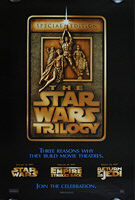 Star Wars Trilogy: Special Edition (1997) Advance 'F' (March 14) - Original US One Sheet Movie Poster