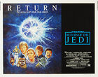 Star Wars: Return of the Jedi (1983) 1985 - Original US Half Sheet Movie Poster