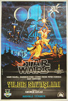 Star Wars (1977) - Original Turkish Movie Poster