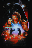 Star Wars: Episode III - Revenge of the Sith (2005) Version 'B' - Original US One Sheet Movie Poster