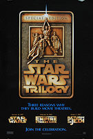 Star Wars Trilogy: Special Edition (1997) Advance (March 7) - Original US One Sheet Movie Poster