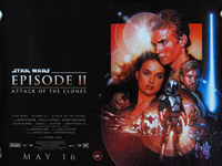 Star Wars: Episode II - Attack of the Clones (2002) - Original British Quad Movie Poster