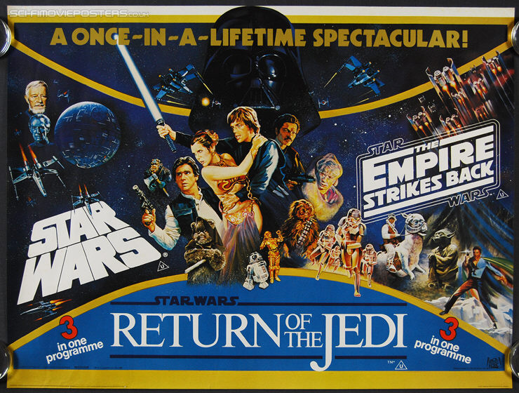 Fifth image of Empire Strikes Back Return Of The Jedi with Star Wars/The Empire Strikes Back/Return of the Jedi (1983 ...