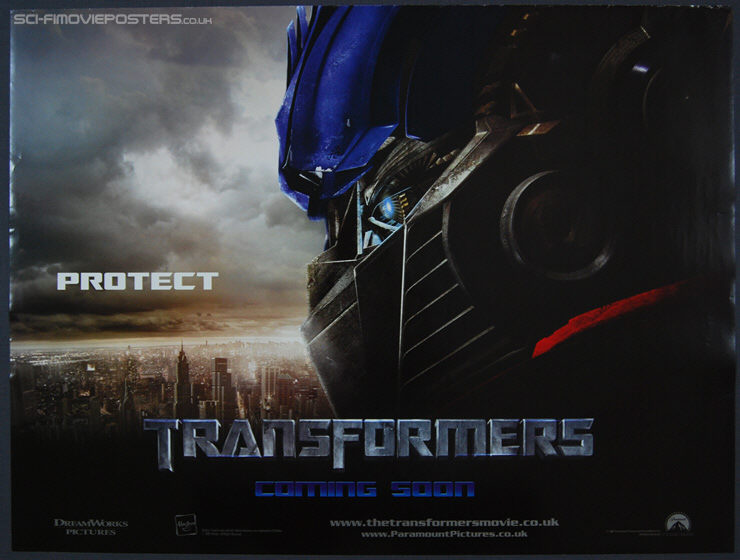 Movie Posters 2007: Transformers (2007) 'Protect'