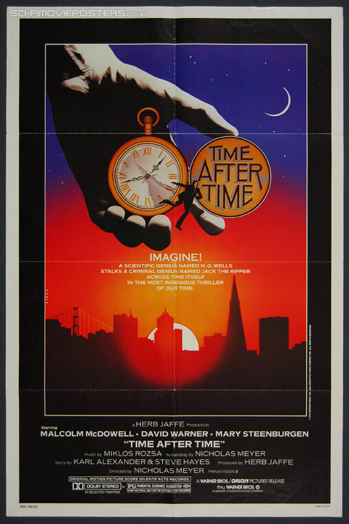 Time After Time (1979) - Original US One Sheet Movie Poster
