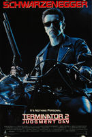 Terminator 2: Judgment Day (1991) - Original US One Sheet Movie Poster
