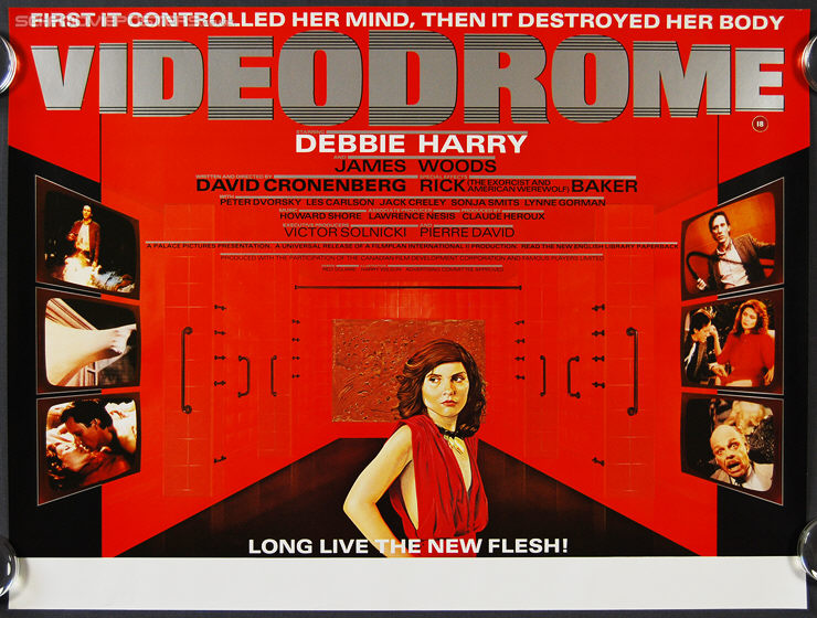1983 Movie Posters: Videodrome Poster (1983)