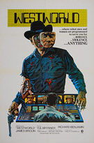 Westworld (1973) - Original (international version?) One Sheet Movie Poster
