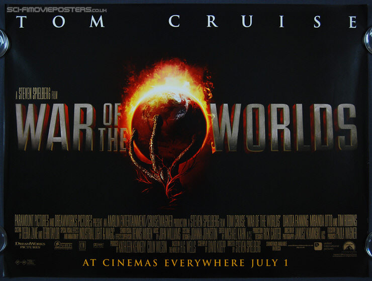 war of the worlds 2005 poster. War of the Worlds (2005)
