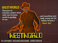 Westworld (1973) - Original British Quad Movie Poster