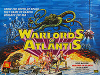 Warlords of Atlantis (1978) - Original British Quad Movie Poster