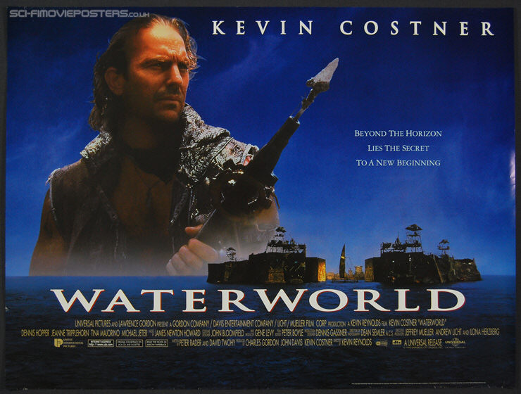 Waterworld Quad Poster (1995) - Original British