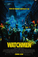 Watchmen (2009) Advance - Original US One Sheet Movie Poster