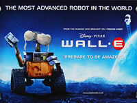 WALL-E (2008) - Original British Quad Movie Poster
