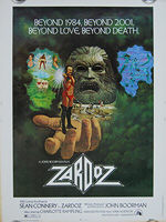 Zardoz (1974) - Original US One Sheet Movie Poster