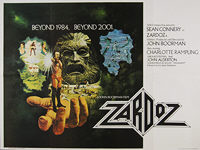Zardoz (1974) - Original British Quad Movie Poster